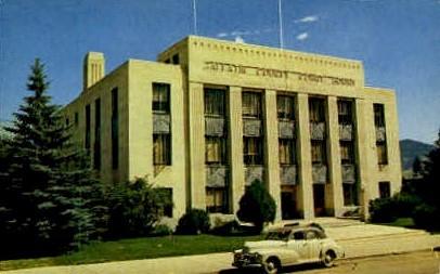 Gallatin County Court House - Bozeman, Montana MT Postcard