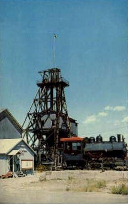 The World Museum of Mining - Misc, Montana MT Postcard