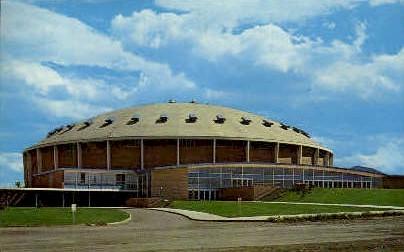 Field House, Montana State College - Bozeman Postcard