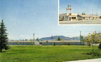 The Bell Motels - Misc, Montana MT Postcard