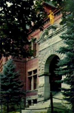 Sacred Heart Academy - Missoula, Montana MT Postcard