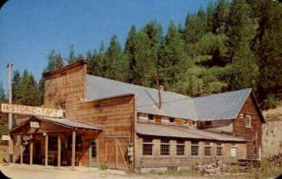 Historic Taft Hotel - Misc, Montana MT Postcard