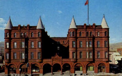 The Marcus Daly Hotel-Motel - Misc, Montana MT Postcard