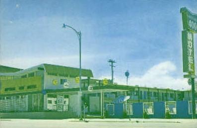 Imperial 400 Motel - Bozeman, Montana MT Postcard