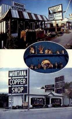 Montana Copper Shops Inc. - Missoula Postcard