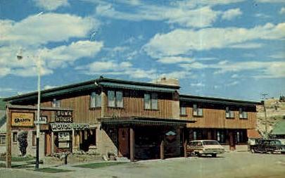 Bunkhouse Motor Lodge - Red Lodge, Montana MT Postcard