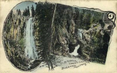 In Middle Creek Canyon - Bozeman, Montana MT Postcard