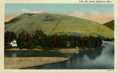 Mt. Jumbo - Missoula, Montana MT Postcard