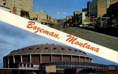 Bozeman, Montana, MT Postcard