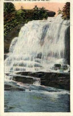 Conestee  Falls - Misc, Montana MT Postcard