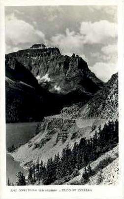 Sun Highway, Little Chief Mountain - Misc, Montana MT Postcard