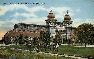 Broadwater Natatorium - Helena, Montana MT Postcard