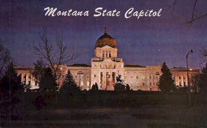 Montana State Capitol - Misc Postcard