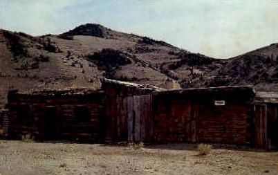 First Jail - Bannack, Montana MT Postcard