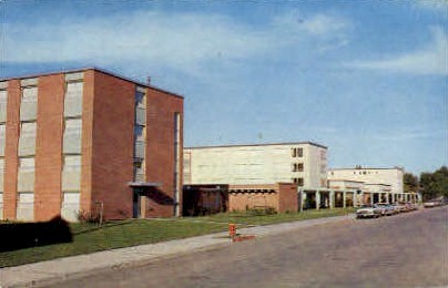 Campus Halls, Montana State College - Bozeman Postcard