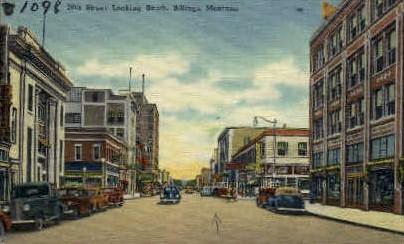 28th. Street - Billings, Montana MT Postcard