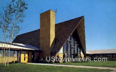 Immanuel Lutheran Home - Kalispell, Montana MT Postcard