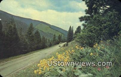 Gibbons Pass - Missoula, Montana MT Postcard