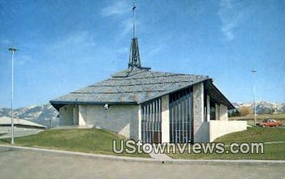 Immaculate Conception Church - Polson, Montana MT Postcard