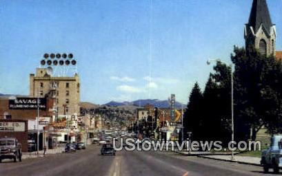 Oregon Trail, Gallatin Valley - Bozeman, Montana MT Postcard