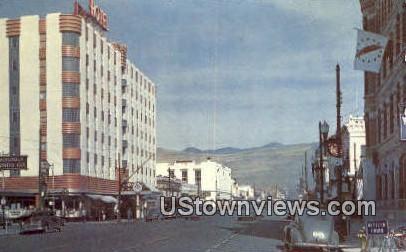 Higgins Ave, Bridge - Missoula, Montana MT Postcard
