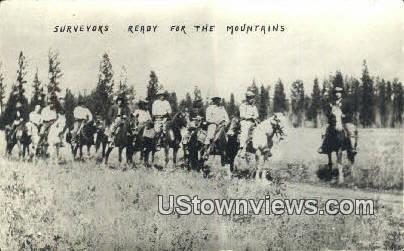 Survivors - Misc, Montana MT Postcard