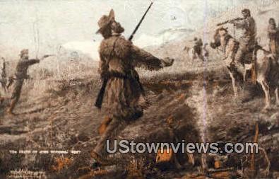 Montana Armory - Bozeman Postcard
