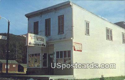 Cooke City General Store - Montana MT Postcard