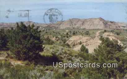 Badlands, MT Postcard       ;       Badlands, Montana