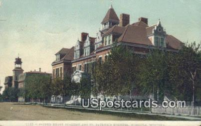 , St Patrick's Hospital - Missoula, Montana MT Postcard