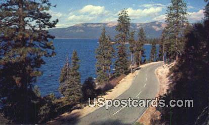 Lake Tahoe - Sierra Mountains, Montana MT Postcard