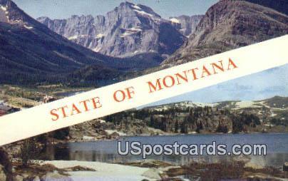 Misc, Montana Postcard       ;            Misc, MT