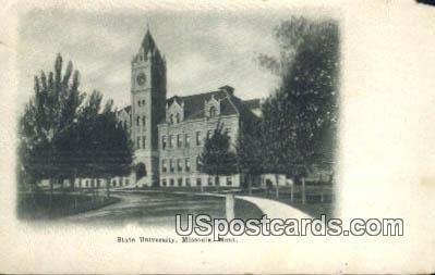 State University - Missoula, Montana MT Postcard