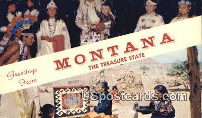 Misc, MT Postcard       ;       Misc, Montana