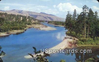 Bitterroot River - Missoula, Montana MT Postcard