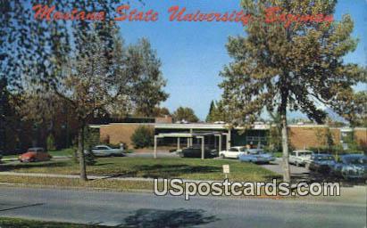 Hapner Hall, Montana State University - Bozeman Postcard