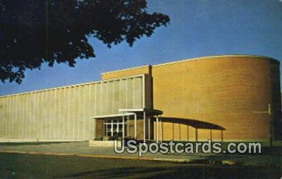 School of Music - Missoula, Montana MT Postcard
