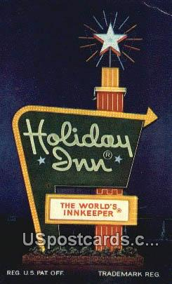 Holiday Inn - Bozeman, Montana MT Postcard