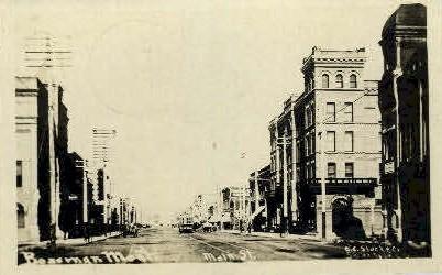 Main St. - Bozeman, Montana MT Postcard