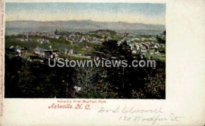 Asheville from Overlook Park - North Carolina NC Postcard