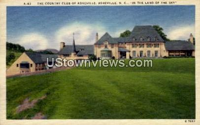 The Country Club of Asheville - North Carolina NC Postcard