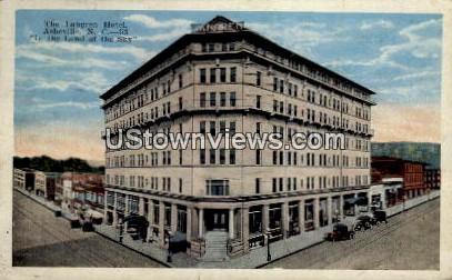 The Langren Hotel - Asheville, North Carolina NC Postcard