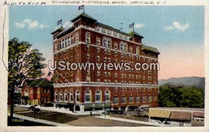 George Vanderbilt Hotel - Asheville, North Carolina NC Postcard