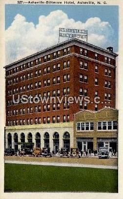 Biltmore Hotel - Asheville, North Carolina NC Postcard