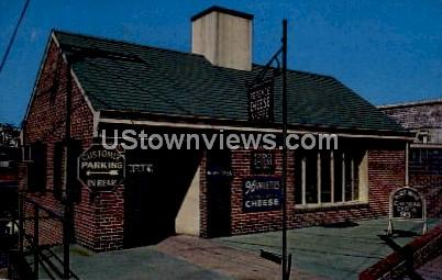 Ference Cheese Shop - Asheville, North Carolina NC Postcard