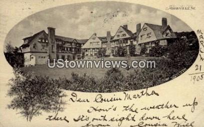 The Manor, Albemarle Park - Asheville, North Carolina NC Postcard