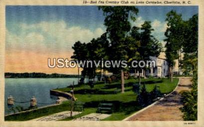 Red Fez Country Club on Lake Catawba - Charlotte, North Carolina NC Postcard