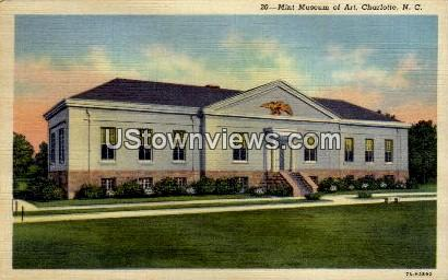 Mint Museum of Art - Charlotte, North Carolina NC Postcard