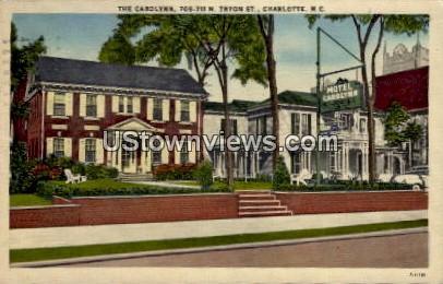 The Carolynn - Charlotte, North Carolina NC Postcard
