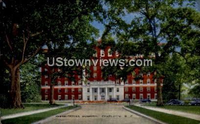 Presbyterian Hospital - Charlotte, North Carolina NC Postcard